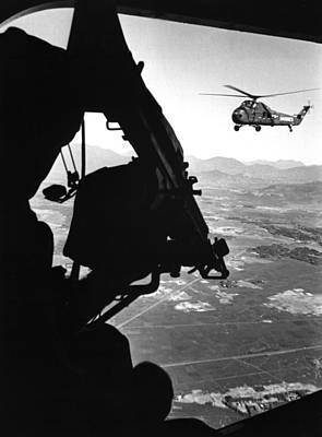 Vietnam War. Us Army Helicopter Art Print by Everett