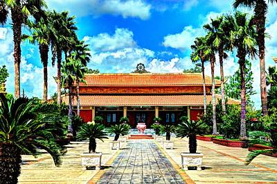Photograph - Vietnamese Buddhist Temple by David Morefield