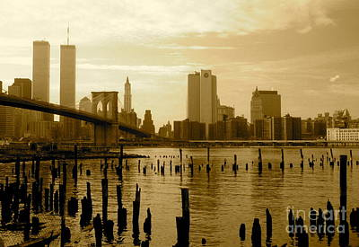 View From Brooklyn Bridge Park Art Print