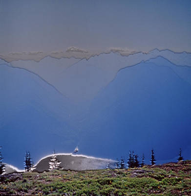 Kerouac Photograph - View From Desolation Peak To Big Beaver by David Pluth