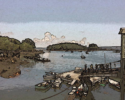 Photograph - View From Georgetown Harbor by Ann Tracy