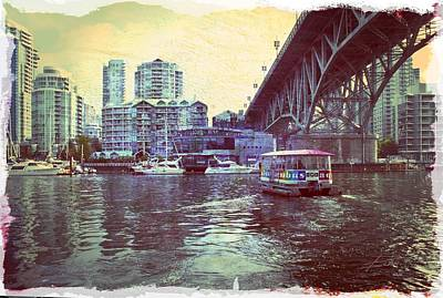 Photograph - View From Granville Island by Barbara  White