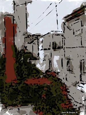 View From Kitchen Window --39 Art Print