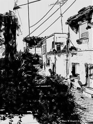 Crete Digital Art - View From Kitchen Window - Vii by James Stanfield