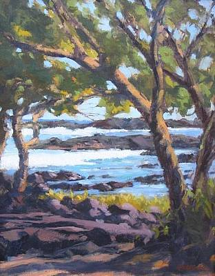 Painting - View From Leleiwi by Robert Weiss
