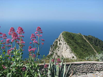 Photograph - View From Monte Solaro by Carla Parris