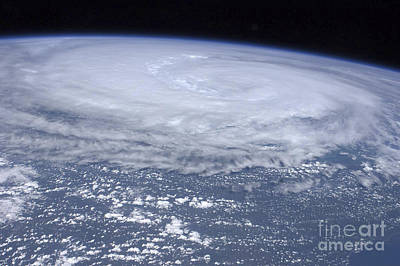 Photograph - View From Space Of Hurricane Irene by Stocktrek Images