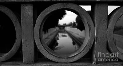 Art Print featuring the photograph View From The Bridge by Nina Prommer