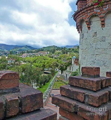 View From The City Walls - Loja - Ecuador Art Print