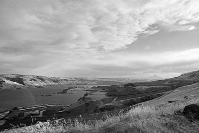 Print featuring the photograph View From The Hill Columbia River by Kathleen Grace