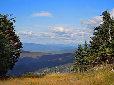 Photograph - View From Top Of Cannon Mountain by Nancy Griswold