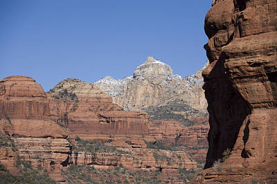 View Looking Up Boynton Canyon, Sedona Art Print