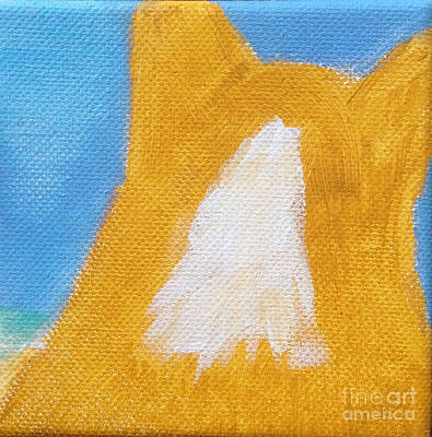 Pembroke Welsh Corgi Painting - View by Louis Sarkas