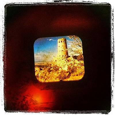 University Photograph - View-master Grand Canyon Watchtower by Natasha Marco