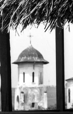 Photograph - View Of An Old Church Bell Tower  by Emanuel Tanjala