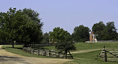 View Of Appomattox Courthouse 2 Art Print by Teresa Mucha
