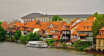 Photograph - View Of Bamberg Riverfront by Kirsten Giving