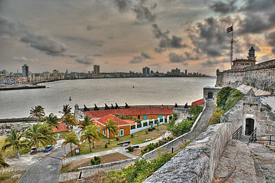 Photograph - View Of Havana From Morro Castle. Cuba by Juan Carlos Ferro Duque