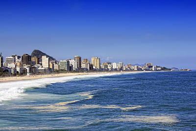 Ipanema Beach Photograph - View Of Ipanema Beach by Antonello