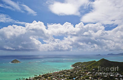 View Of Lanikai Beach, Kailua, Hawaii Art Print by Inti St. Clair