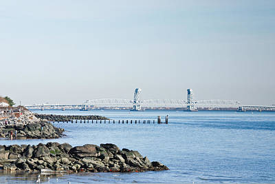 Photograph - View Of Marine Parkway Bridge by Ann Murphy