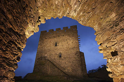 View Of Medieval Dolwyddelan Castle Art Print by Jim Richardson