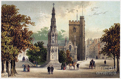 View Of Oxford, C1885 Print by Granger