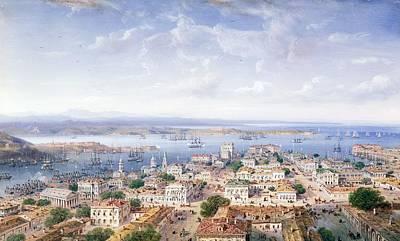 Ussr Painting - View Of Sebastopol  by Carlo Bossoli
