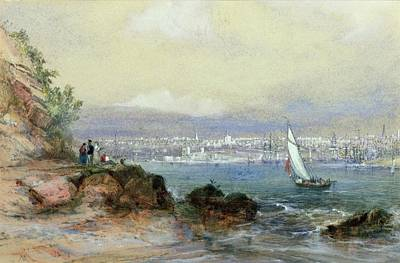 Sydney Painting - View Of Sydney Harbour by Conrad Martens