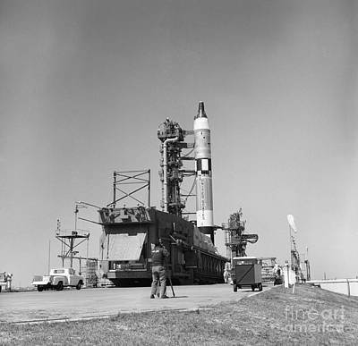 Videographer Photograph - View Of The Gemini-titan 3 by Stocktrek Images
