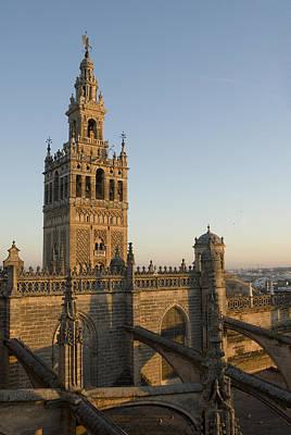 View Of The Giralda Tower Art Print