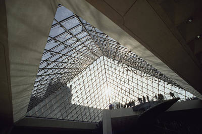 Artists And Artisans Photograph - View Of The Interior Of The Pyramid by James L. Stanfield