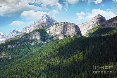 Photograph - View Of The Rocky Mountains In Alberta by Sandra Cunningham