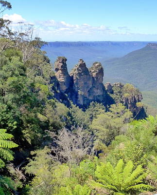 Photograph - View Of The Three Sisters by Carla Parris