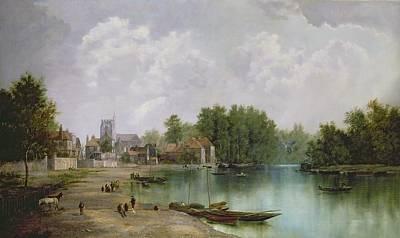 View Of Twickenham Art Print by W Howard