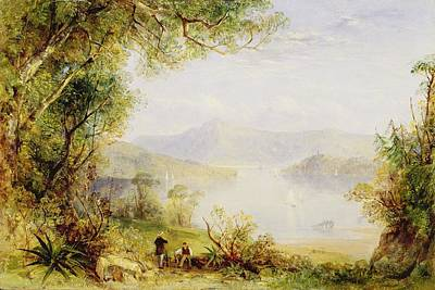 69 Photograph - View On The Hudson River by Thomas Creswick