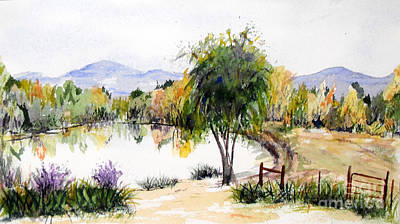 View Outside Reno Art Print by Vicki  Housel