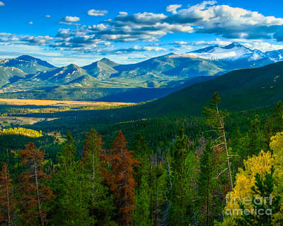 Photograph - View Over Moraine Park From Many Parks Curve by Harry Strharsky
