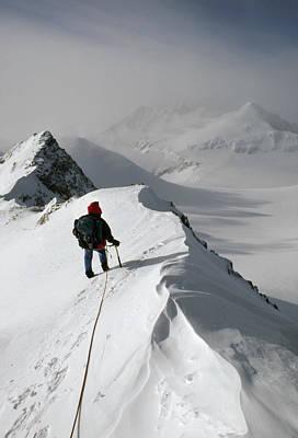 Viewing Mt.shinn From The Vinson Art Print by Gordon Wiltsie