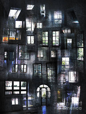 Views From Insides Art Print by Florin Birjoveanu