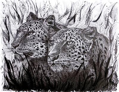 Vigil Art Print by Mario Perez