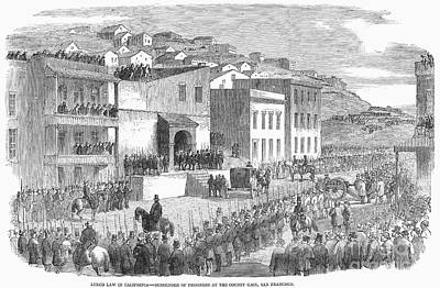 Vigilance Committee, 1856 Print by Granger
