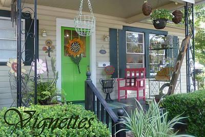 Photograph - Vignettes Store Front by Carla Parris