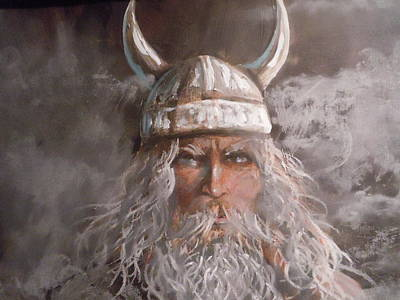 Viking God Art Print by James Guentner