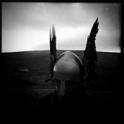 Photograph - Viking Helmet by Betse Ellis