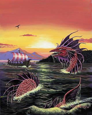 Viking Quest Art Print
