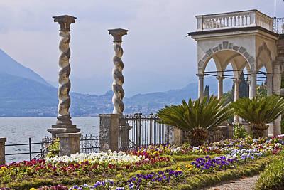 Villa Monastero - Varenna - Lago Di Como Art Print by Joana Kruse