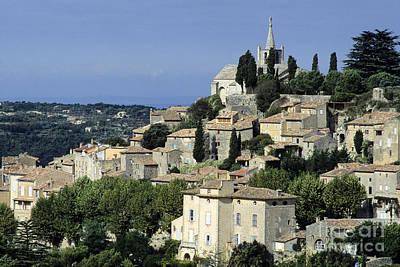Village Of Bonnieux. Provence Art Print