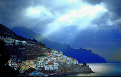 Photograph - Villagio D'amalfi by John Galbo