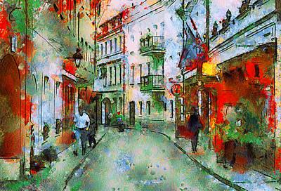 Vilnius Walk Art Print by Yury Malkov